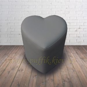 пуфик сердце (кожзам флай2233)